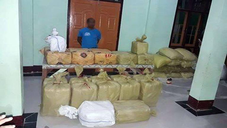 Kawlgam ah Burmese Monk khat vankham zatang 4.6 Million tawh kiman ~ ZD