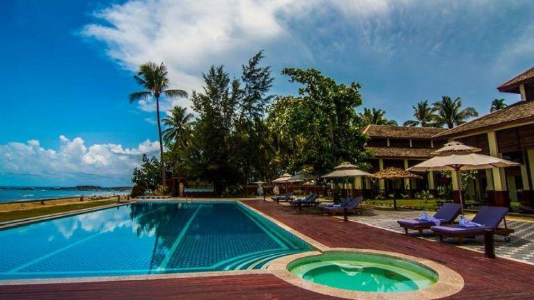 Ngapali Beach Hotel khat Licence neilopi in kihong ~ ZD