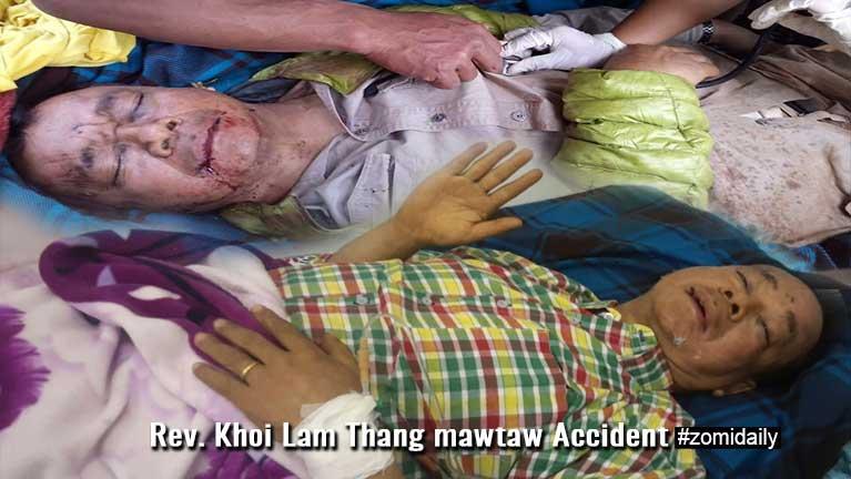Rev. Khoi Lam Thang Gangaw tunmadiak ah mawtaw Accident ~ ZD
