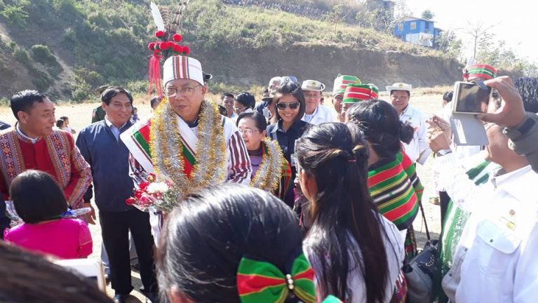 Myanmar President: Gambup Lutangpi U Htin Kyaw Zogam hongzin ~ Zingsol