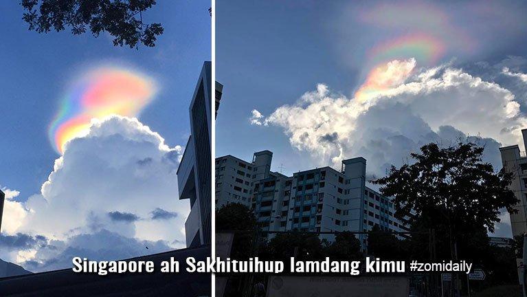 "Singapore ah Sakhituihup ""Rainbow"" lamdang khat kimu ~ ZD"