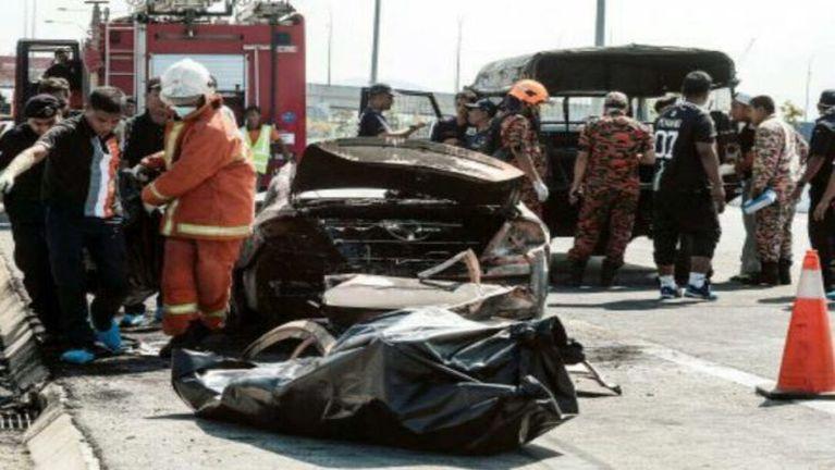 Malaysia, Penang Bridge tungah Taxi khat meikang in mi 2 si ~ ZD
