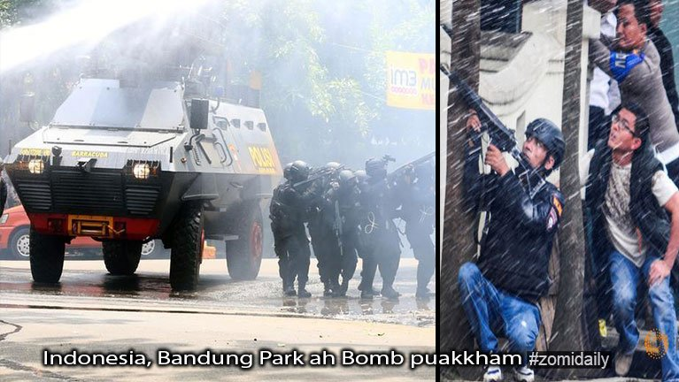 Indonesia, Bandung City ah Bomb puakkham in khuasung buaigawp ~ ZD