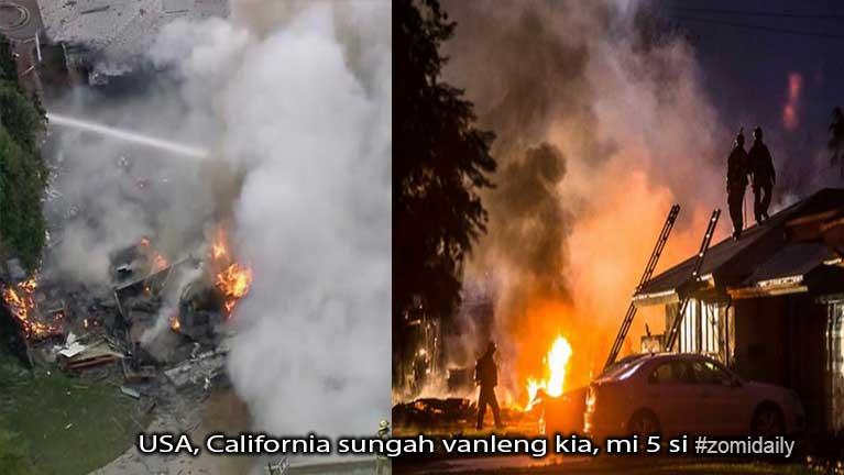 USA, California sungah vanleng kia, mi 5 si ~ ZD