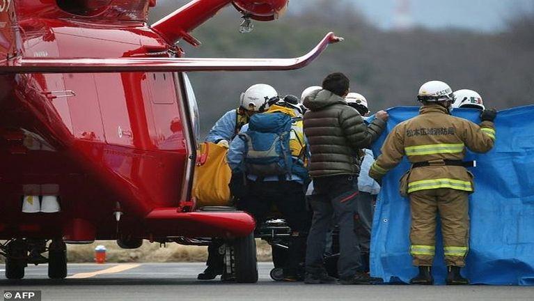 Japan ah Helicopter khat kia in, mi 9 si ~ ZD
