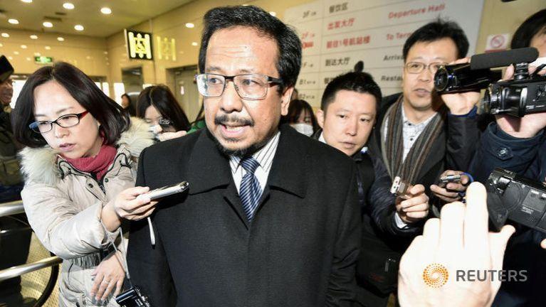 North Korea inzong agampan in Malaysian Ambassador hawlkhiatna pia ~ ZD