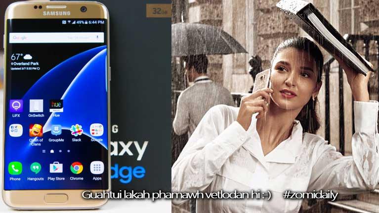 """Samsung S7 Edge pen """"Best Smartphone of 2016"""" in ki ciamteh ~ ZD"""