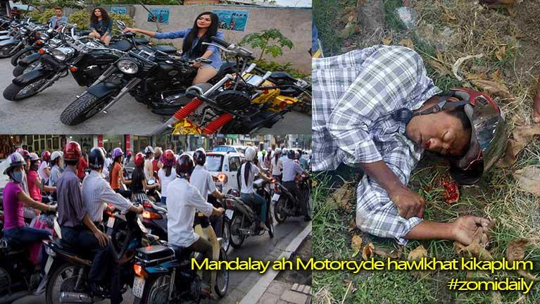 Mandalay ah Taxi Driver khat thautawh kikaplum in akikapzia palik te'n kansan
