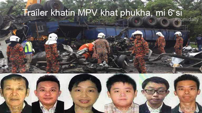 Malaysia, Perak State ah mawtawpi khatin adang mawtawneu khat phukha in mi 6 sipah ~ ZD