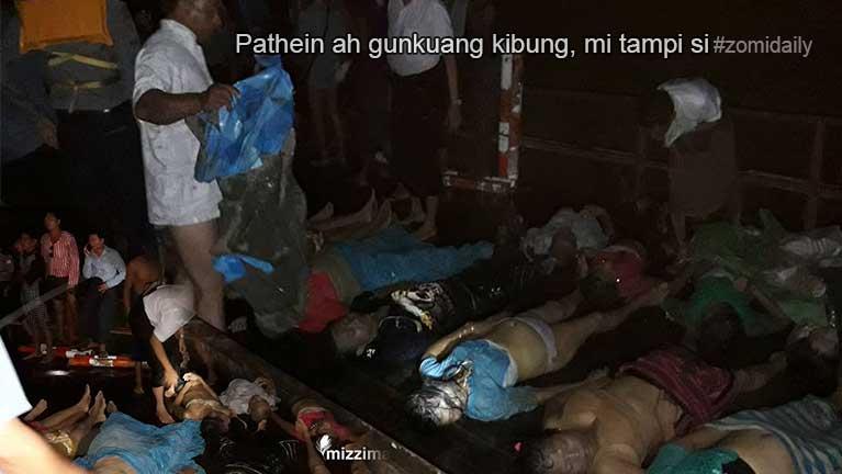 Pathein, Ngawin lui sungah gunkuang (setli) kibung in mi 60 si ~ ZD