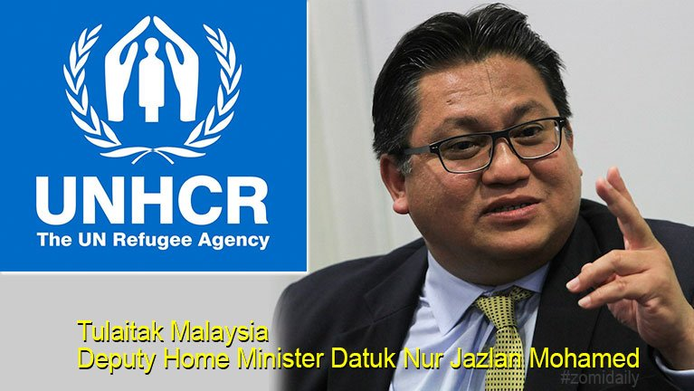 Malaysia Home Ministry te'n UNHCR Card tawite ii Background sitciansawm