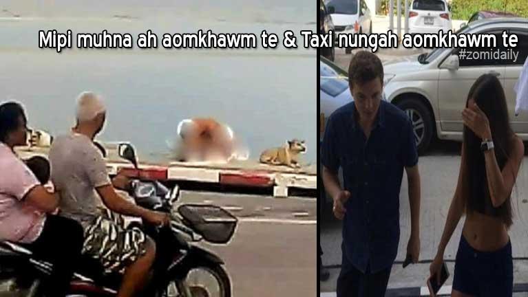 Mipi muhna lampi gei ah aomkhawm nupakop te Thai Police te'n zonsan