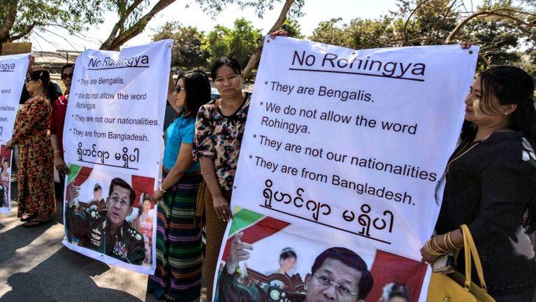 Yangon ah Rohingya te hangin Buddhist leh Muslim kikal buaina piang