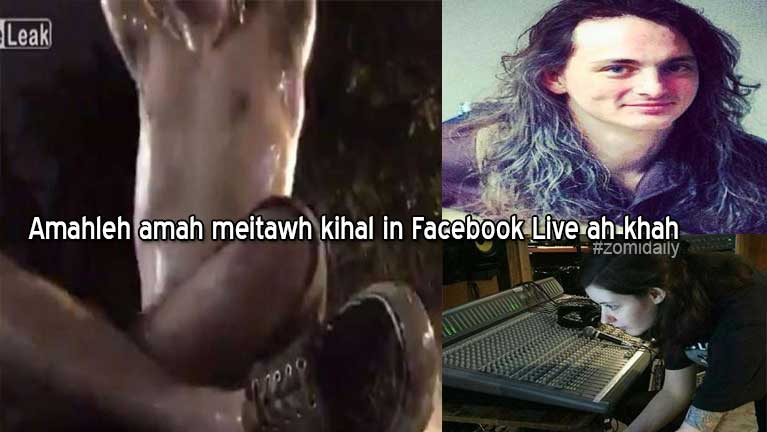 US Musician khat amahleh amah meitawh kihallum, Facebook Live in khah