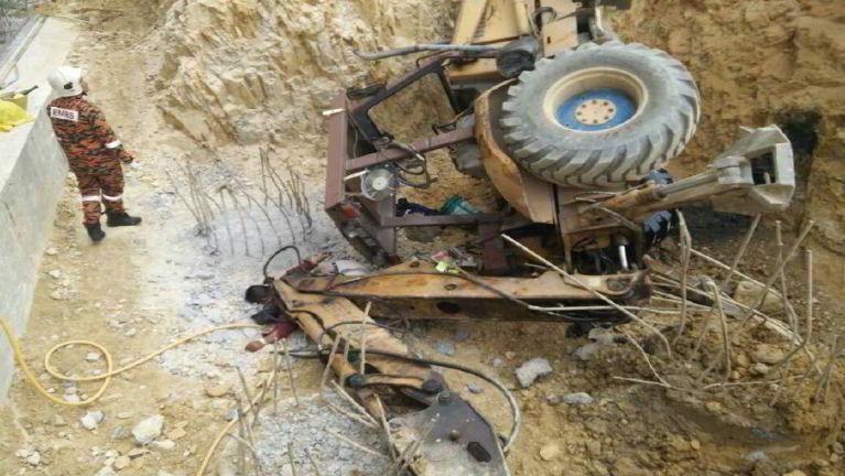 Kuala Lumpur khuasung nasepna khatah leitoset Excavator in nasemkhat denglum