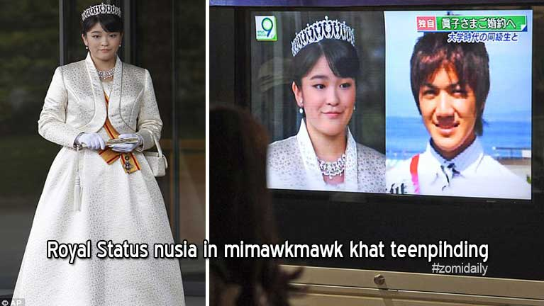 Japanese Princess khatin Royal hihna nusia in mimawkmawk khat teenpihding