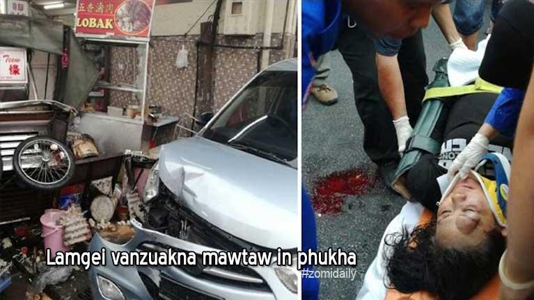 "Johor lamgei vanzuakna ""Hawker Stall"" te mawtaw in phukha in Tourist khat zato tung"