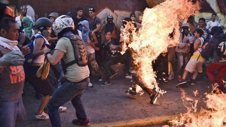 Venezuela gamah lungphona hangin aki kaplum mi 48 phakhinta