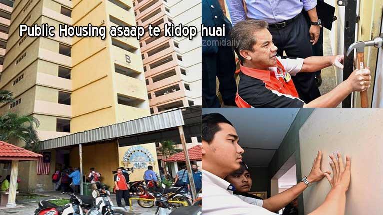 "Malaysia gamsung ""Public Housing"" kici innsaap akiman zawdeuh ah aomte kidop huai"