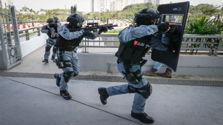 Malaysia gamsung ah SEA Games atunma in Security Drill 5 vei kibawlding