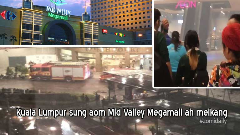 Kuala Lumpur khuasung aom Mid Valley Megamall ah meikang