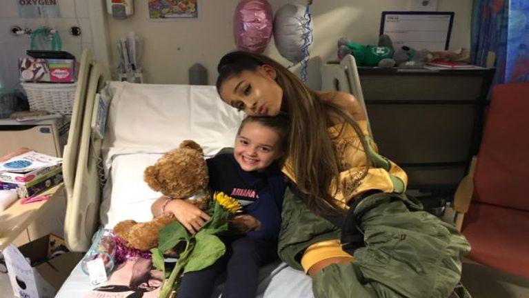 Manchester atuahsia te a enkikding in American Singer Ariana Grande hawhkik