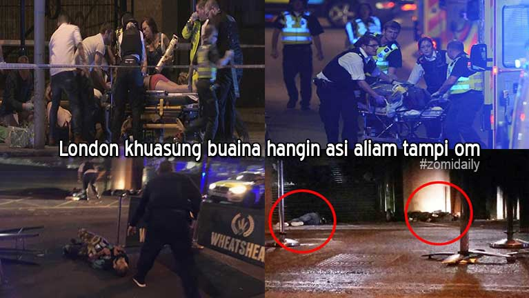 "London khuasung ngongtat te buaisakna ""Terrorist Attacks"" hangin mi 10 si, 48 liam"