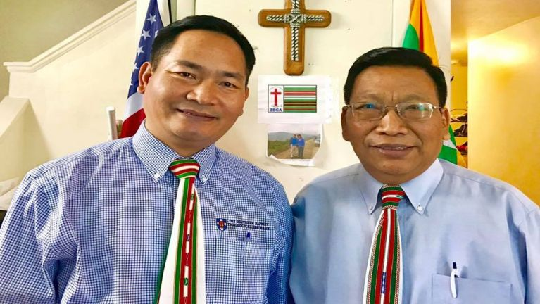 Zogam khanlawhna pu minphatna: Rev. Dr. Pum Za Thang Tombing