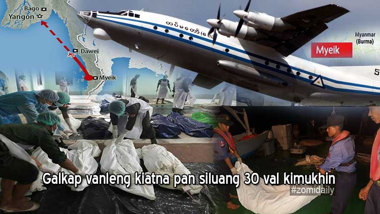 "Galkap vanleng ""Y-8 Military Plane"" kiatna pan siluang 30 val kimukhin"