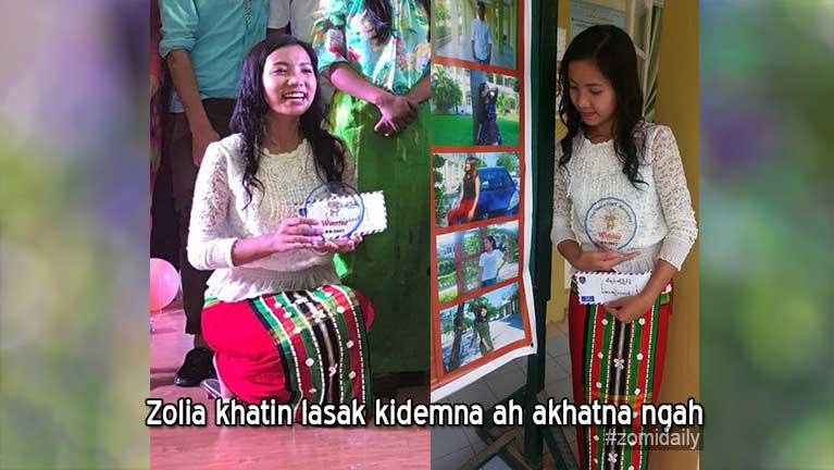 """Zolia khatin """"The Voice In UMT (Mdy)"""" cih lasak kidemna ah akhatna ngah"""
