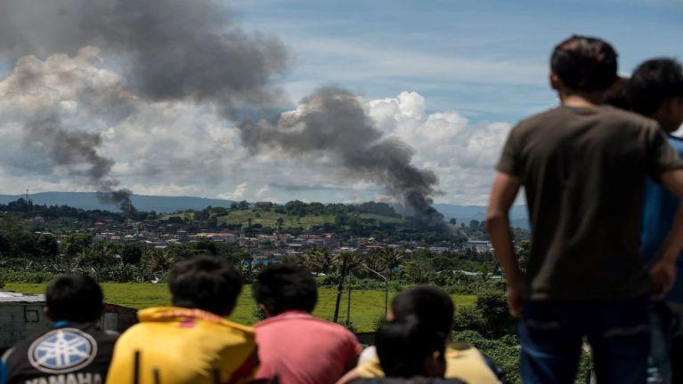 Philippines, Marawi City sung galkidona hangin mi asi 329 phakhinta