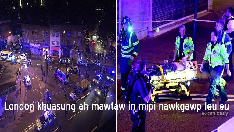 Breaking News: London khuasung ah mawtaw khatin khuasung mipi te nawkgawp leuleu