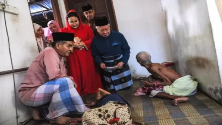 Malaysia PM Najib in kumsawtpi pumpi cidamlo nupa te vehin huhna sumpia