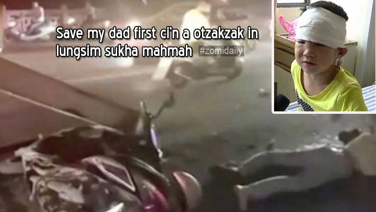 Pata Accident tuakin Ambulance atunciang kum 6 aphapan atapa in kapa honmasa un ci