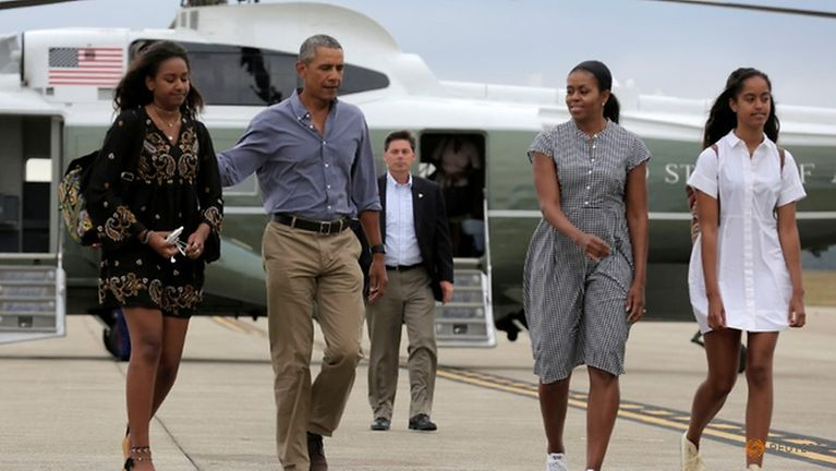 Barack Obama te innkuan Indonesia gamsung ah Family Holiday zangding in hawh