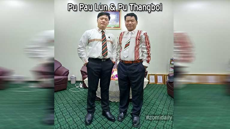 Pu Pau Lun leh Kei ~ Pu Thangboi