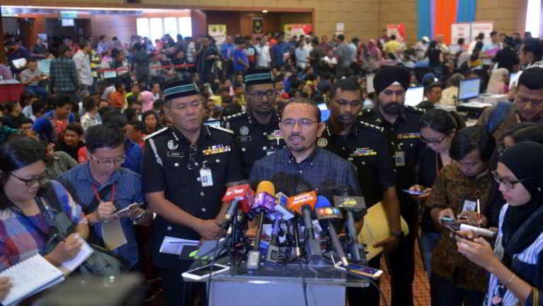 Malaysia gamsung ah July 26 ni ciangciang Operasi pan akiman mi 5065 phakhinta