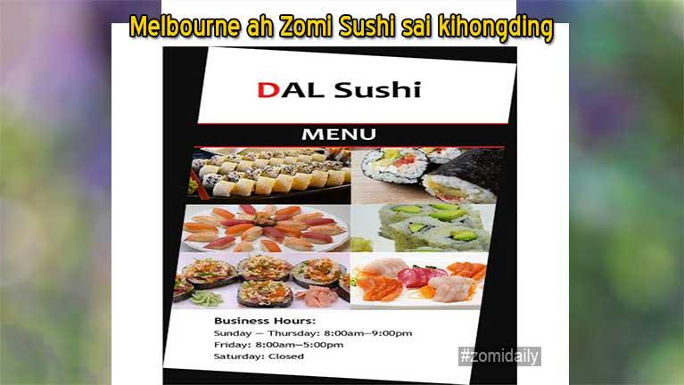 Australia, Melbourne ah Zomi Sushi sai kihong tading