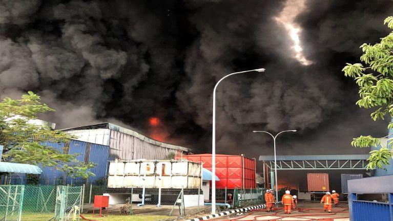 Malaysia, Penang sung aom Plastic Factory khat meikanggawp