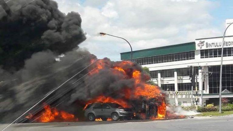 Malaysia, Sarawak State sungah Oil Tanker khat puakkham in meikuanggawp