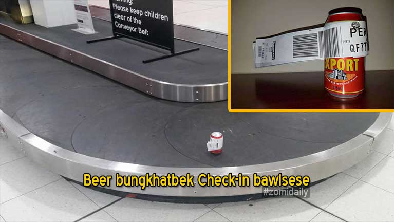 Vanleng tawh khualzin khatin Beer bungkhatbek Check-in bawlsese