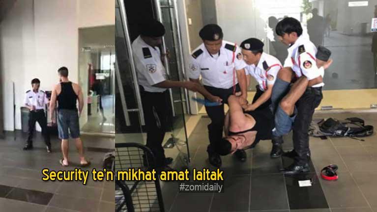 Security Guards te leh siamna theikhat akitot laitak uh Video kithehzak