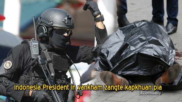 Indonesia President inzong Drug Traffickers te thautawh kapkhuan piata