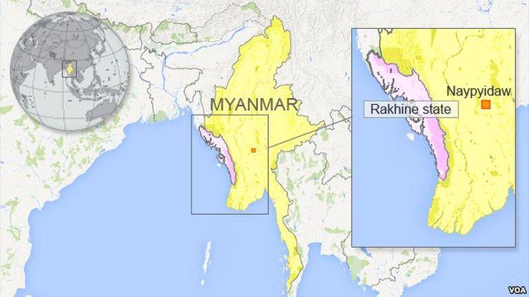 Germany kumpi in Rakhine State sungah zatding in US$ 2.1 Million piading
