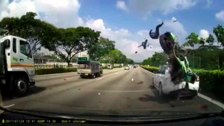 Singapore gamsung ah Malaysia gammi 2 Motorcycle tuahsia