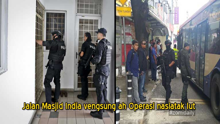 Jalan Masjid India vengsung ah Operasi nasiatak kibawl in mi 409 kiman