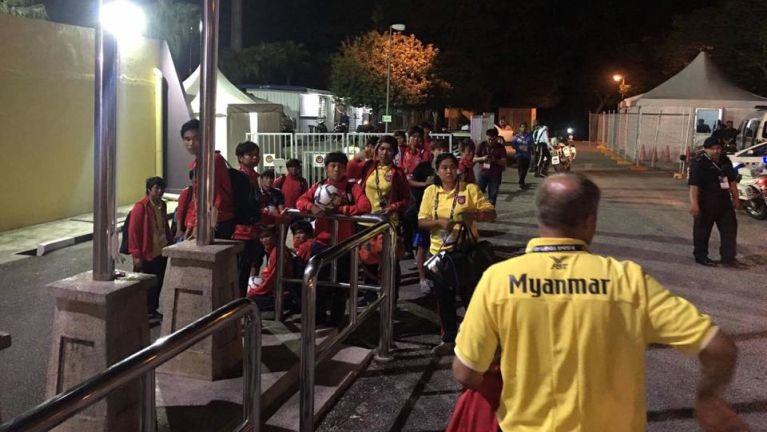 SEA Games ah Myanmar te'n Malaysia 5-0 tawh zogiap ahih manin aciahnading tavai pah