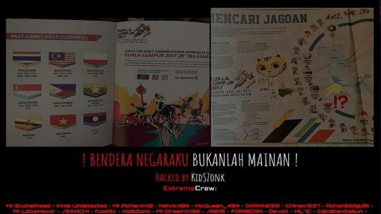 Dialkhai vai alungkimlo Indonesia Hacker te'n Malaysia website bawlsiatsak