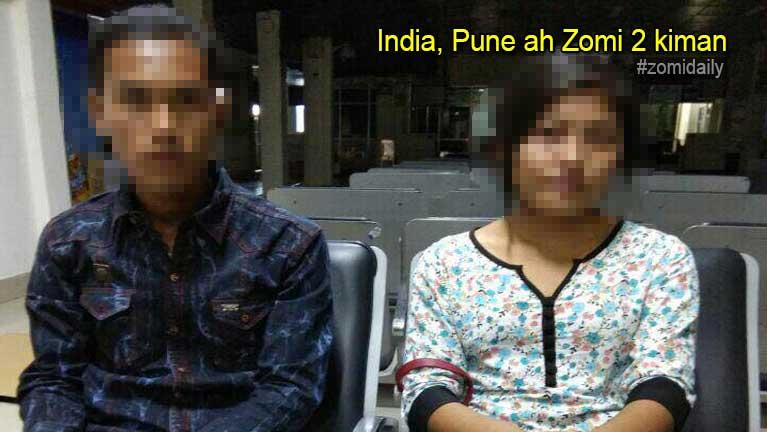 India, Pune ah Laisiangtho sangkahding in apai Zomi 2 kiman