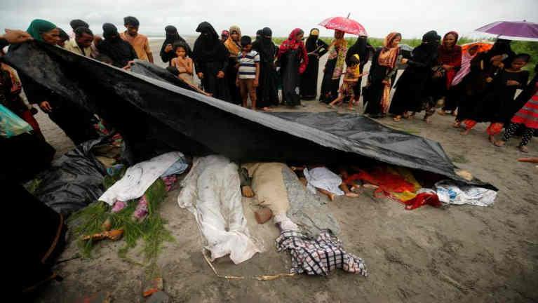 Myanmar, Rakhine State sung buaina hangin misi 400 phata